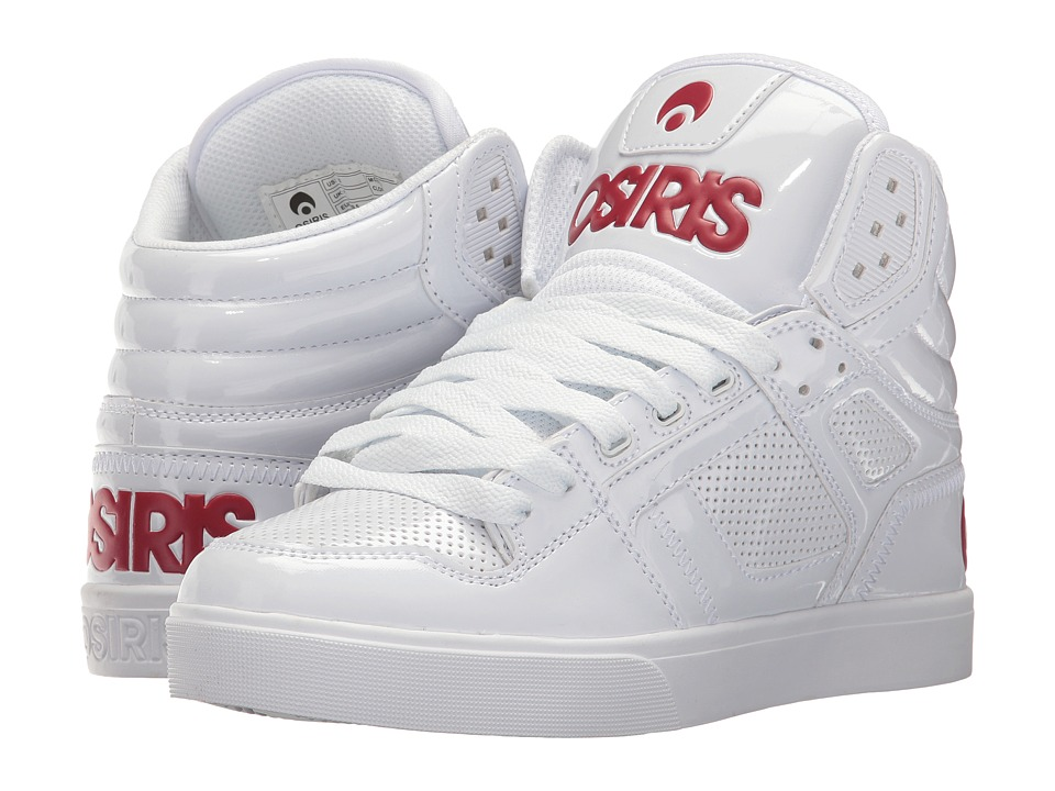 Osiris - Clone (White/Red) Women's Skate Shoes