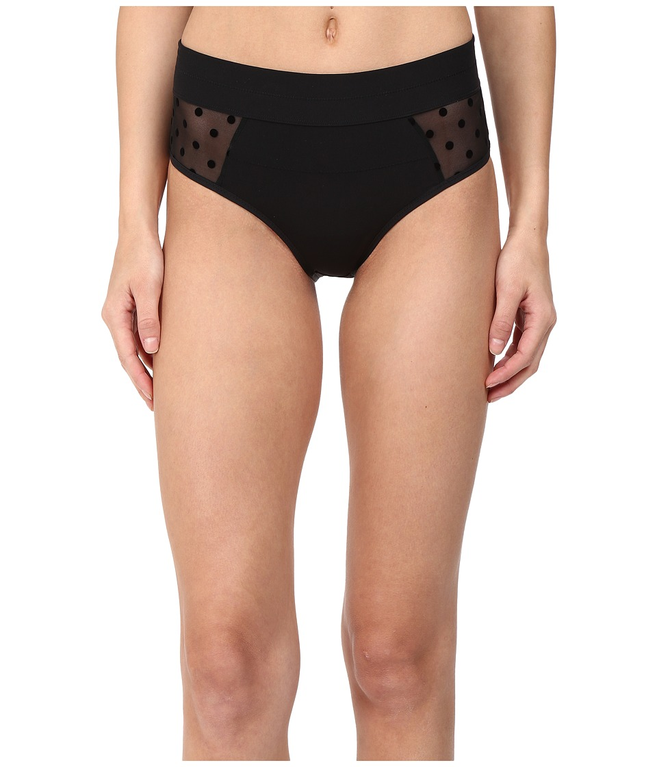 Stella McCartney - Olivia Humming - High Cut (Black) Women's Underwear
