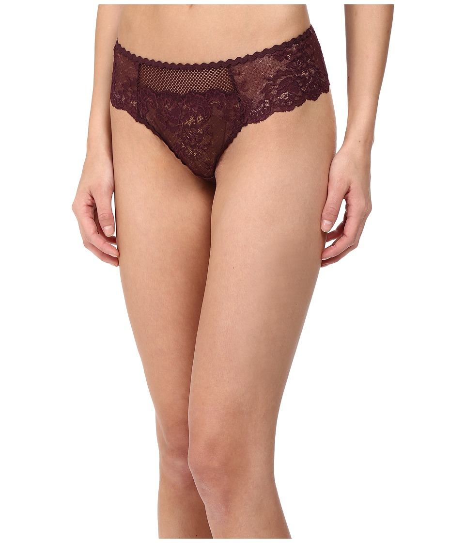 Stella McCartney - Sophie Surprising - Thong (Plum) Women's Underwear