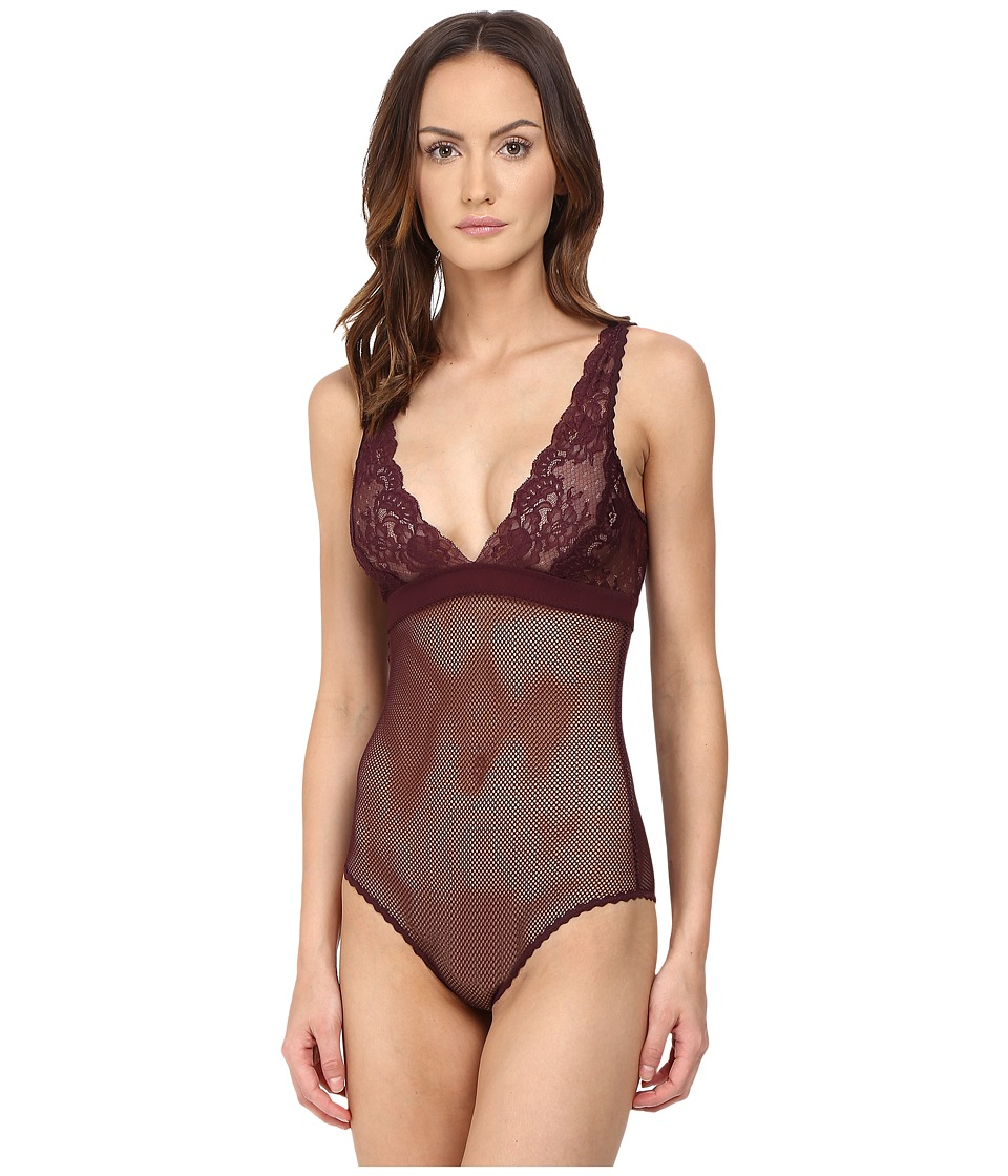 Stella McCartney - Sophie Surprising - Bodysuit (Plum) Women's Jumpsuit & Rompers One Piece
