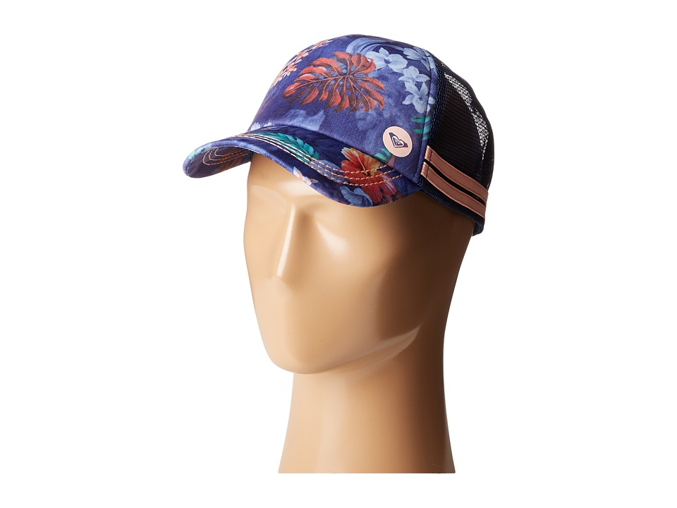 Roxy - Dig This Trucker Hat (Blue Depths) Caps
