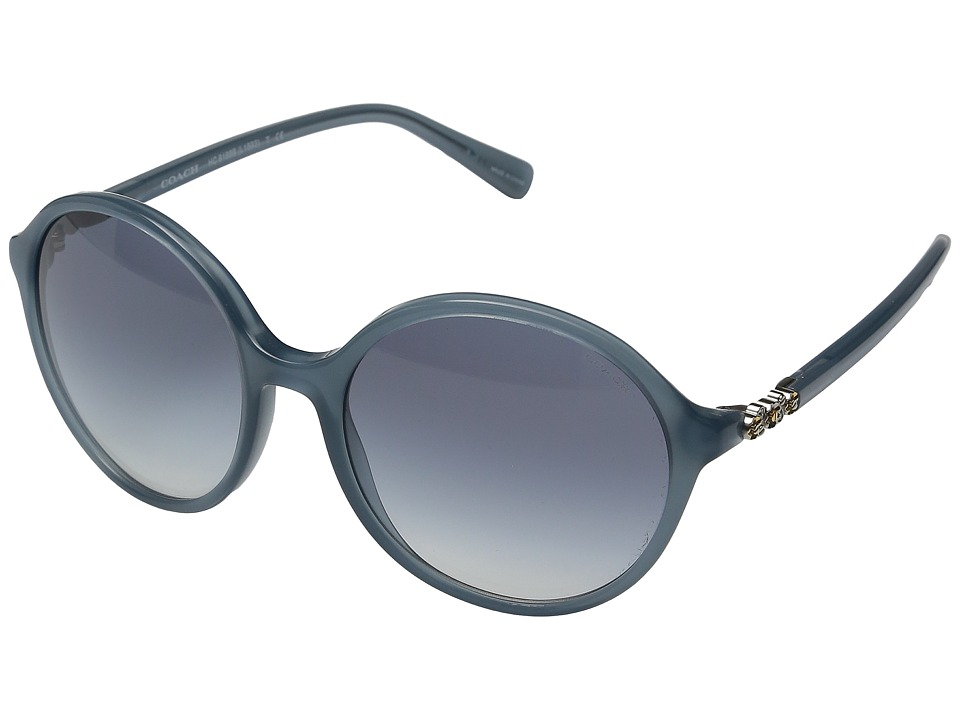 COACH - 0HC8188B (Milky Blue) Fashion Sunglasses