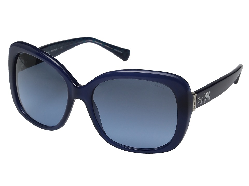 COACH - 0HC8158 (Dark Tortoise) Fashion Sunglasses