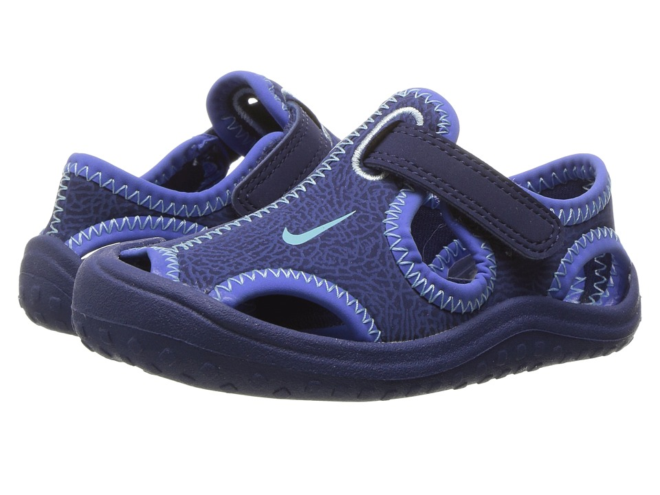 Nike Kids - Sunray Protect (Infant/Toddler) (Binary Blue/Still Blue/Comet Blue) Boy's Shoes