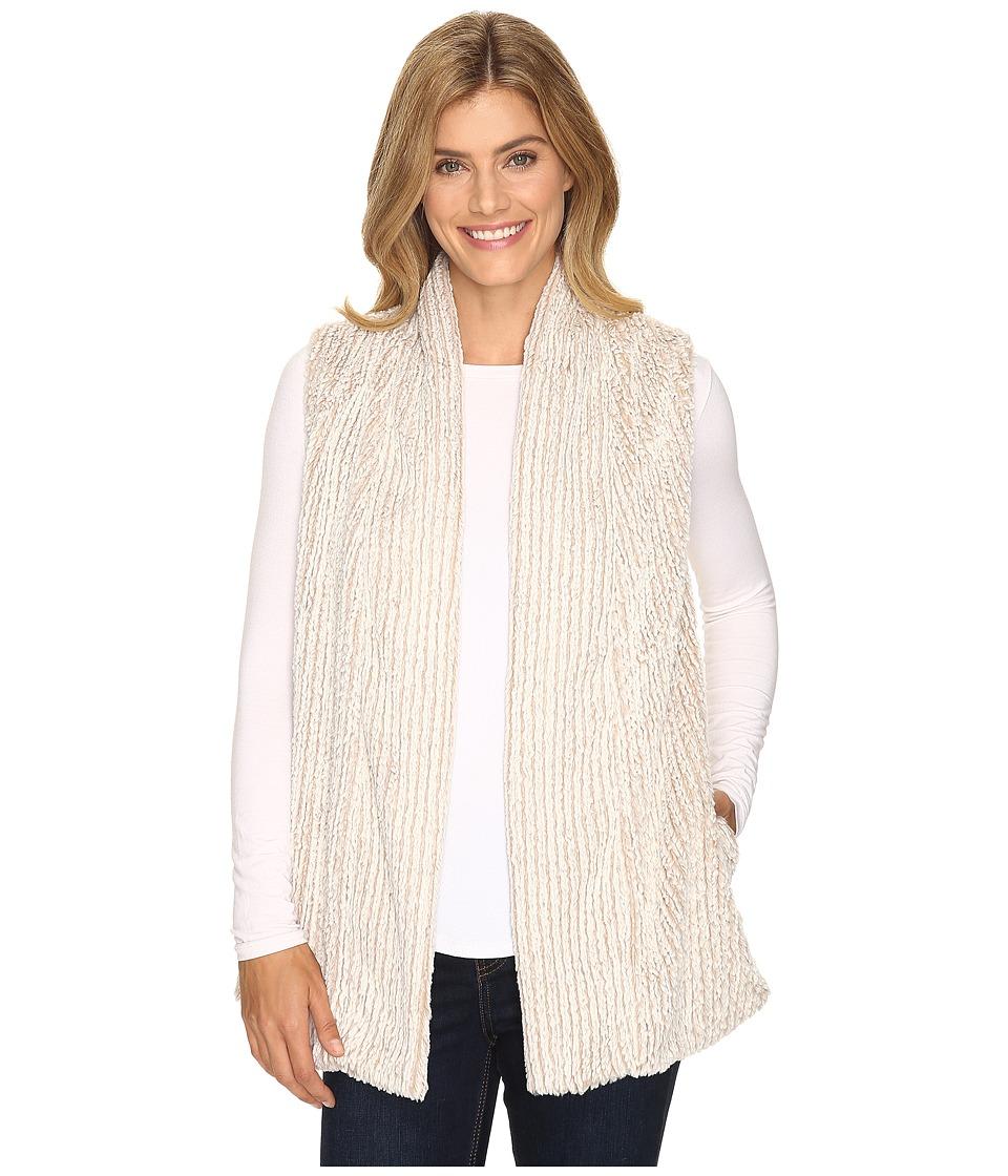 B Collection by Bobeau - Francisco Textured Vest (Nautural) Women's Vest