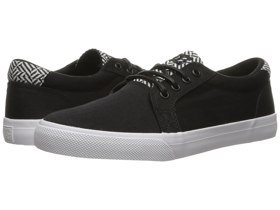 DC - Council TX SE (Black/White) Men's Skate Shoes