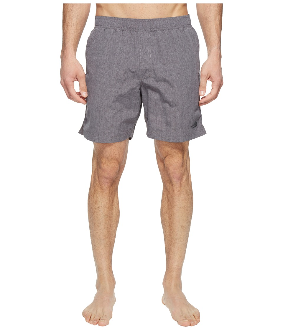 The North Face - Class V Pull-On Trunk (Zinc Grey Linen Print (Prior Season)) Men's Swimwear