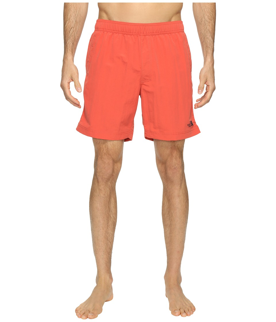 The North Face Class V Pull-On Trunk (Sunbaked Red (Prior Season)) Men