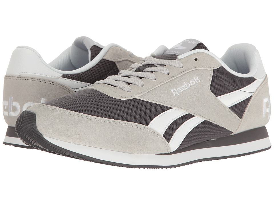 Reebok - Royal CL Jogger 2 RS (Light Grey Heather Solid Grey/Black/White) Men's Classic Shoes