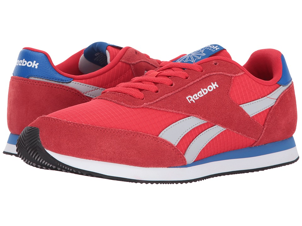 Reebok - Royal CL Jogger 2 (Primal Red/Awesome Blue/Light Grey Heather Solid Grey/White) Men's Shoes