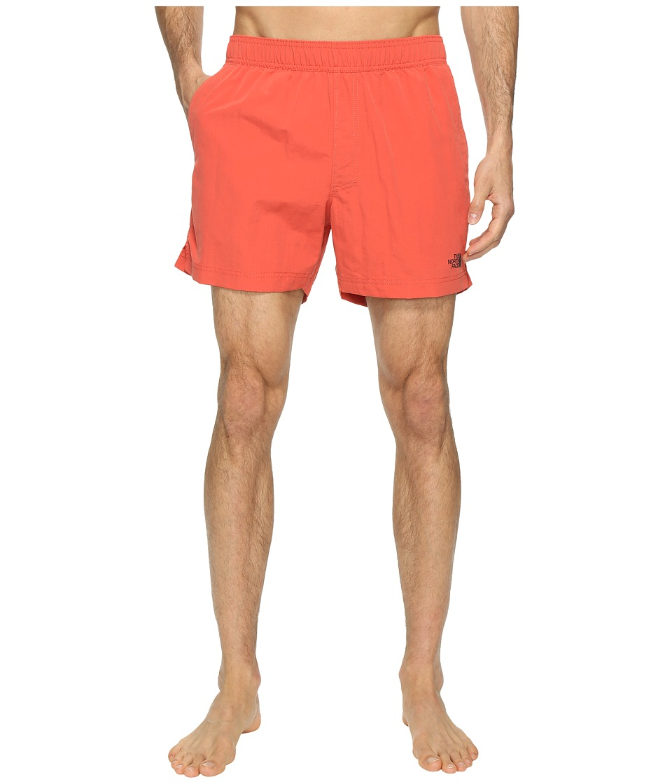 The North Face Class V Pull-On Trunk Short (Sunbaked Red (Prior Season)) Men