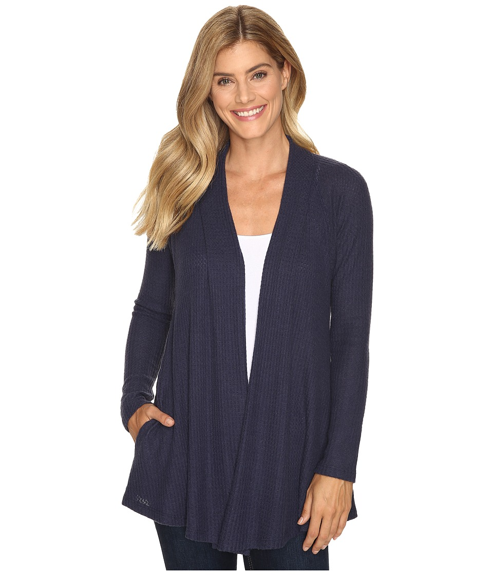 B Collection by Bobeau - Lynne Knit Cardigan (Navy) Women's Sweater