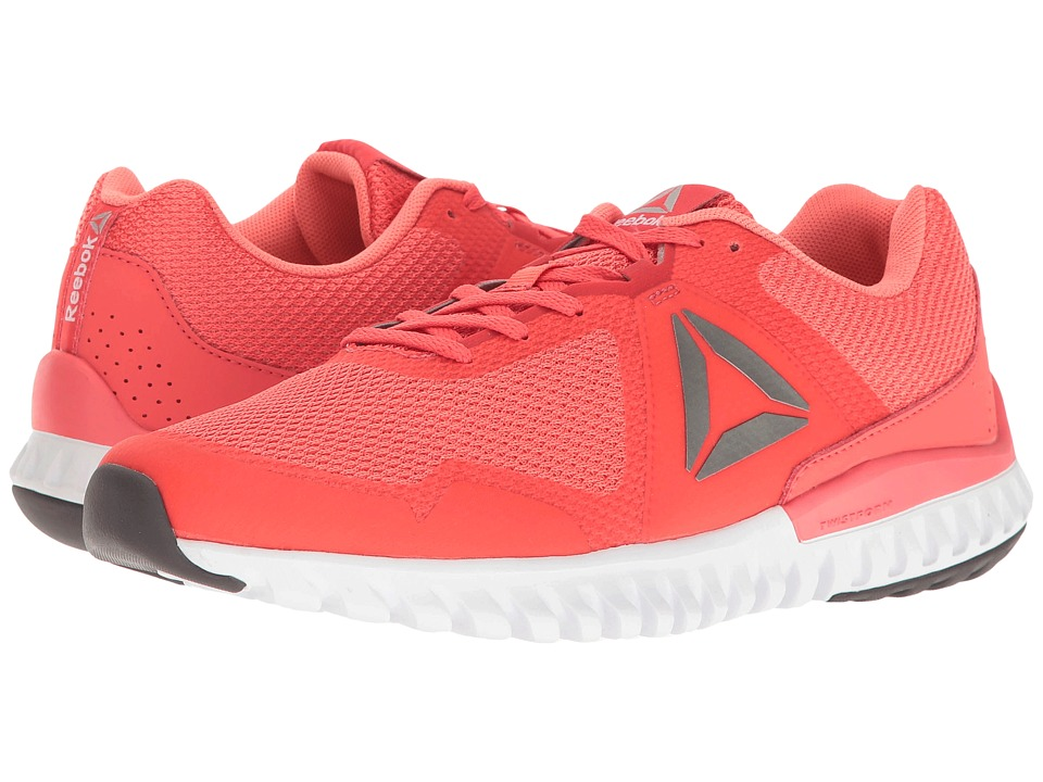 Reebok Twistform Blaze 3.0 MTM (Fire Coral/Stellar Pink/White/Ash Grey/Pewter) Women