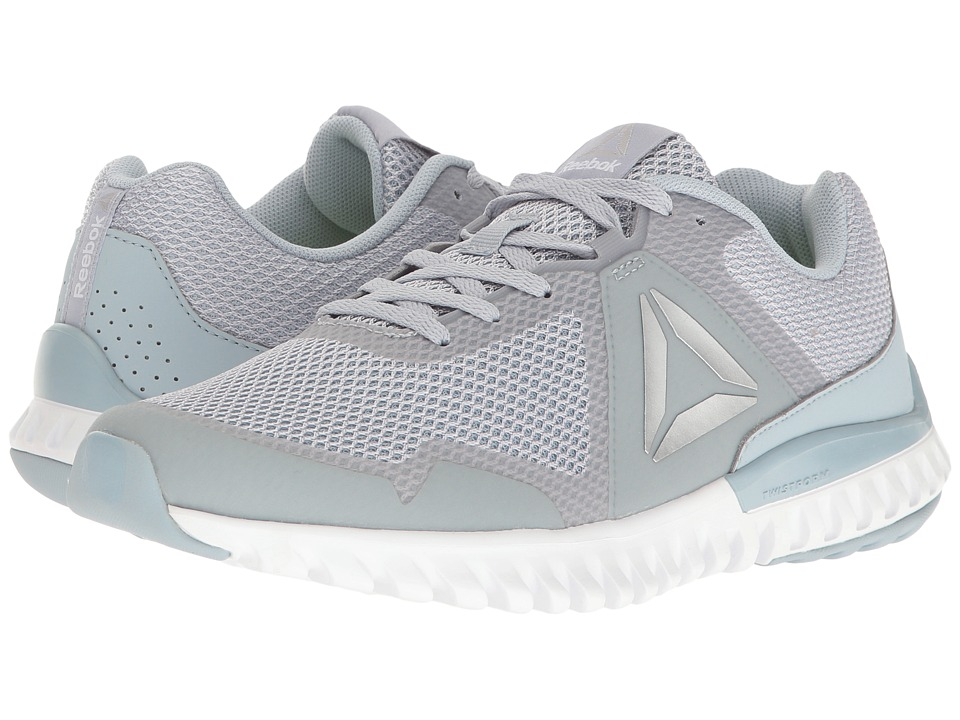 Reebok Twistform Blaze 3.0 MTM (Cloud Grey/Gable Grey/White/Silver) Women