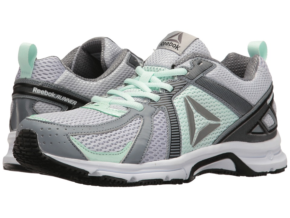 Reebok - Reebok Runner (Skull Grey/Asteroid Dust/Mist/White/Black/Pewter) Women's Shoes