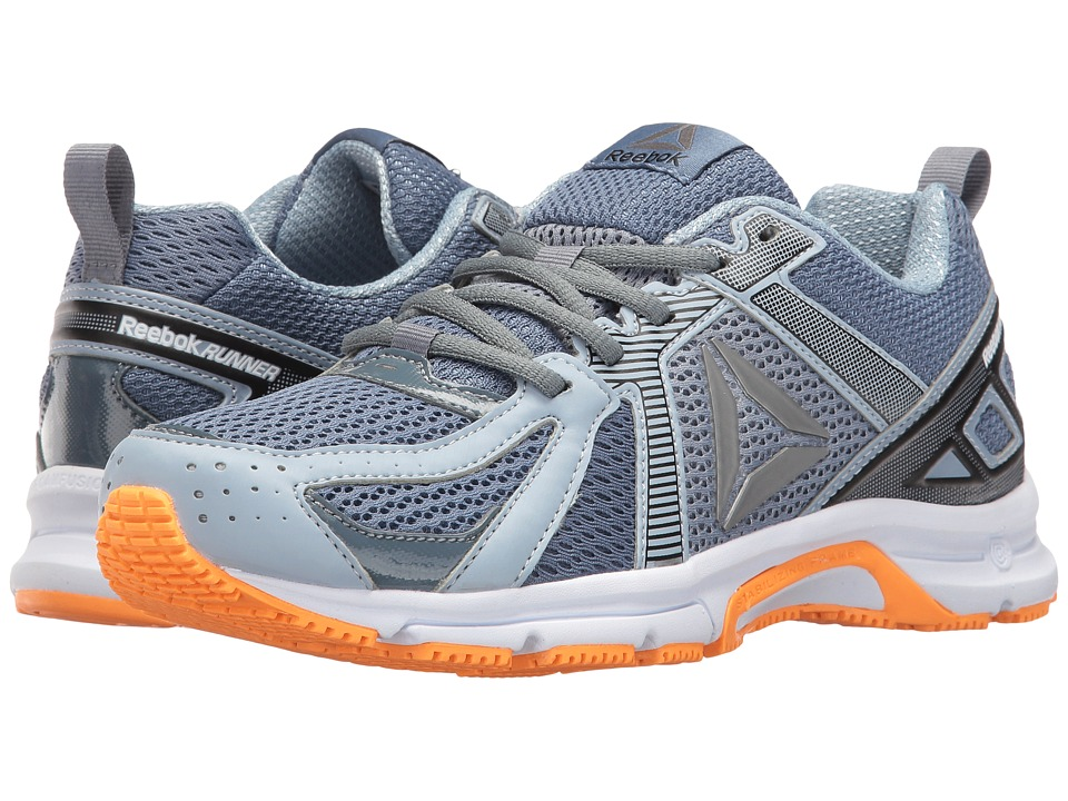Reebok - Reebok Runner (Brave Blue/Stonewash/Gable Grey/White/Fire Spark/Pewter) Women's Shoes