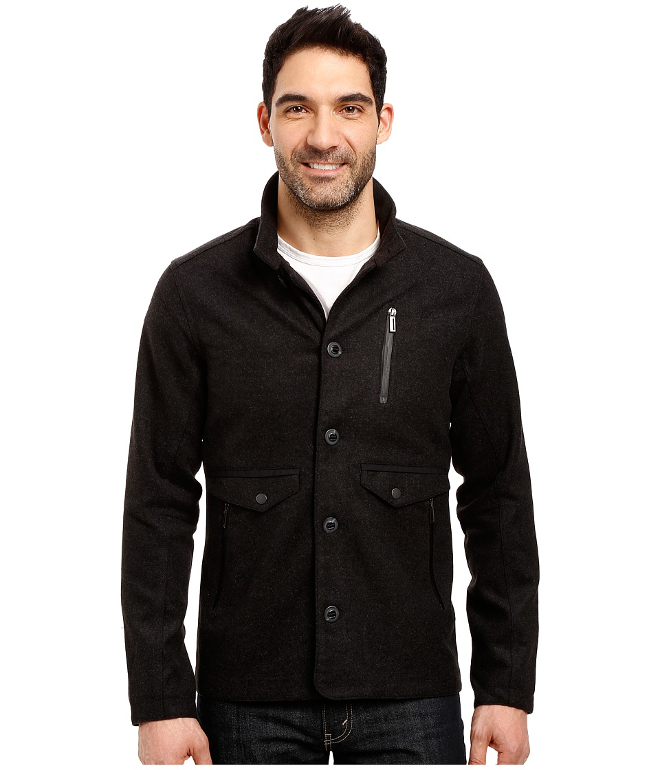 NAU - Transporter Jacket (Caviar Heather) Men's Coat
