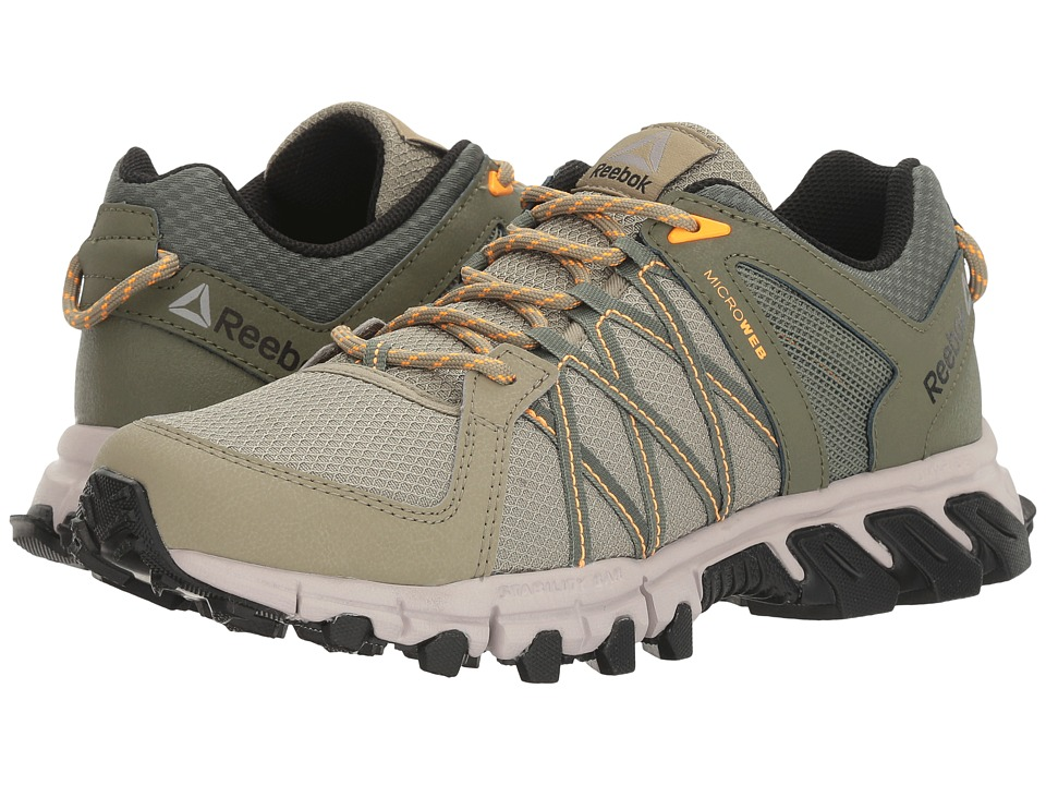 Reebok - Trailgrip RS 5.0 (Khaki/Hunter Green/Whisper Grey/Fire Spark/Black) Women's Cross Training Shoes