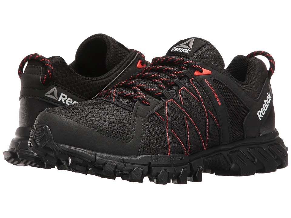 Reebok - Trailgrip RS 5.0 (Black/Carotene/Coal) Women's Cross Training Shoes