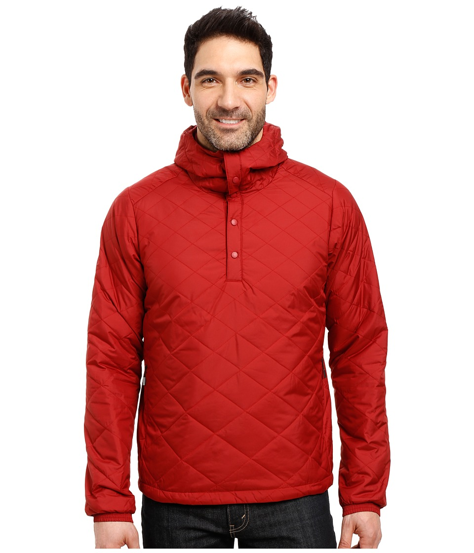 NAU - Synfill Hoody Pullover (Pomegranate) Men's Coat