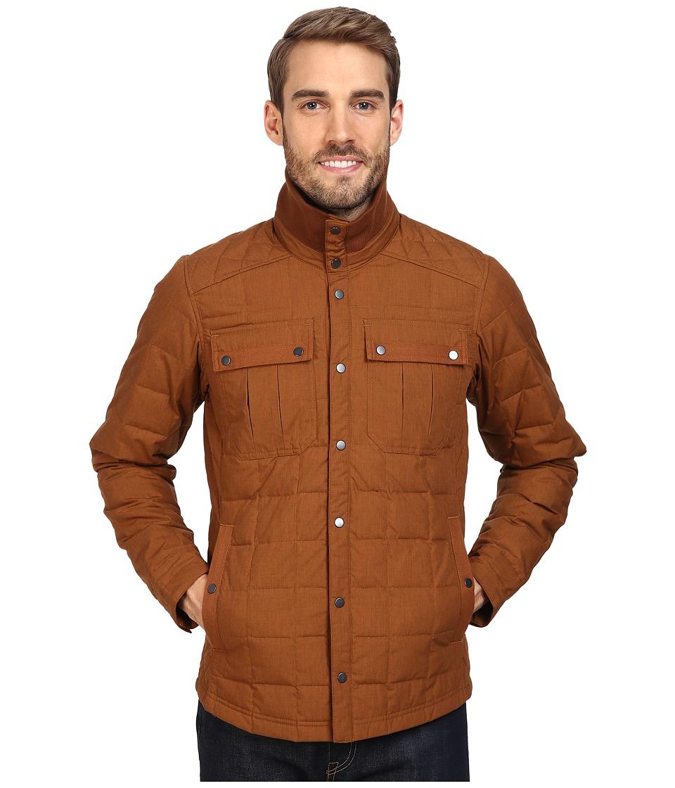 NAU - Utility Down Shirt (Scotch) Men's Long Sleeve Button Up