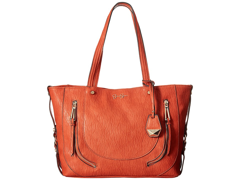 Jessica Simpson - Kendall Tote (Burnt Orange) Tote Handbags