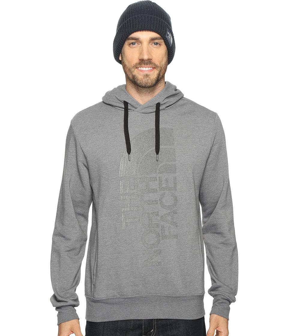 The North Face - Trivert Pullover Hoodie (TNF Medium Grey Heather/Black Reflective (Prior Season)) Men's Sweatshirt