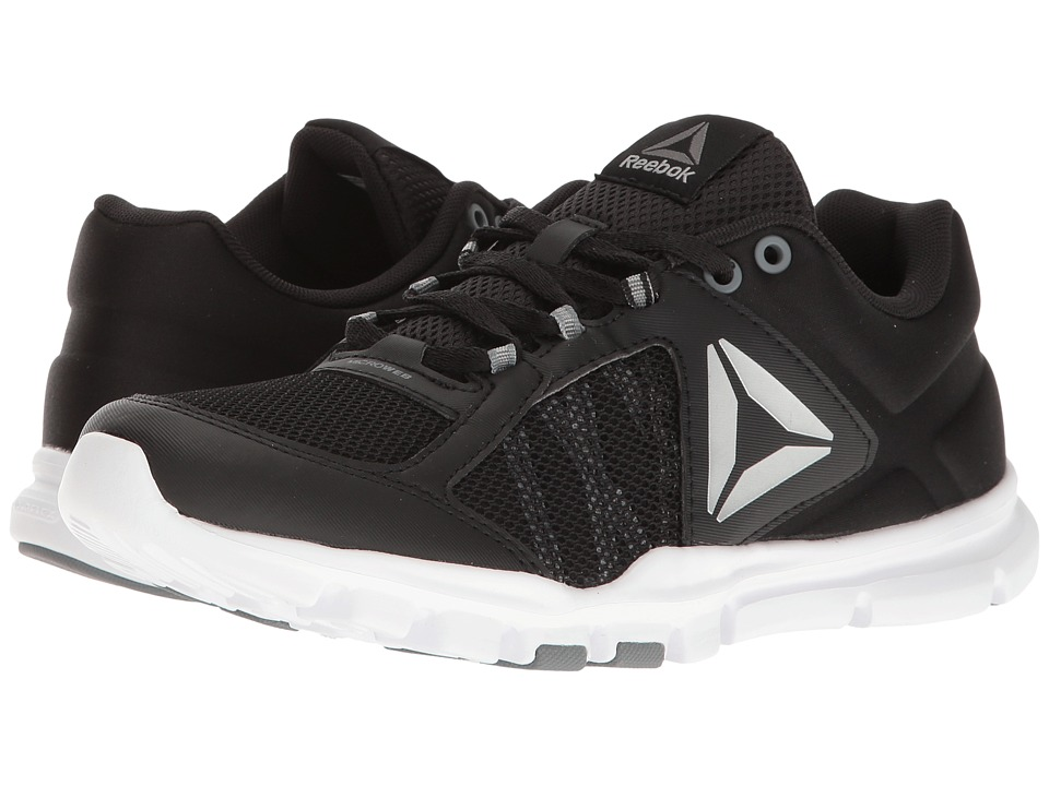 Reebok - Yourflex Trainette 9.0 MT (Black/White/Asteroid Dust/Silver Metallic/Grey) Women's Cross Training Shoes