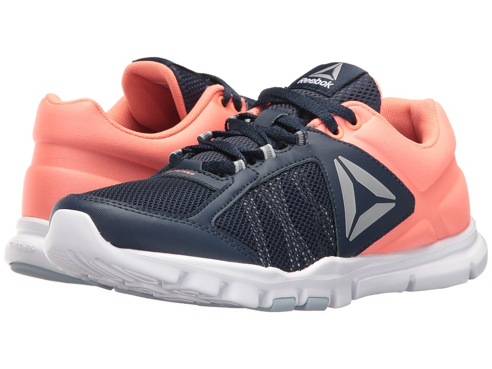Reebok Yourflex Trainette 9.0 MT (Collegiate Navy/Stellar Pink/White/Silver/Grey) Women
