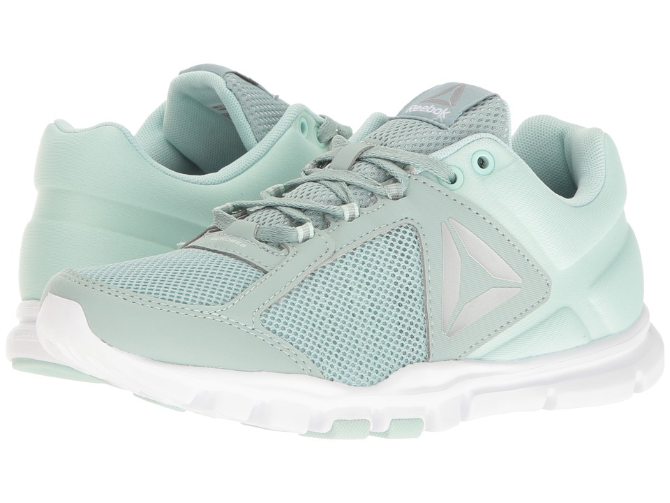 Reebok Yourflex Trainette 9.0 MT (Seaside Grey/Mist/White/Pure Silver/Grey) Women