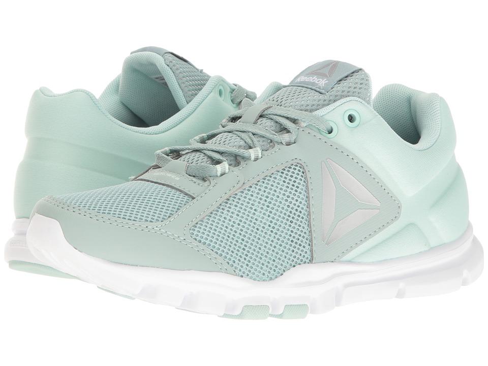 Reebok - Yourflex Trainette 9.0 MT (Seaside Grey/Mist/White/Pure Silver/Grey) Women's Cross Training Shoes