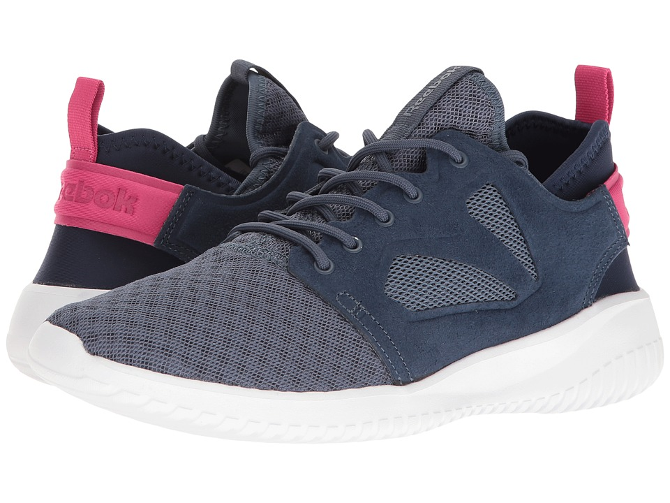 Reebok - Skycush Evolution (Royal Slate/Collegiate Navy/Rose Rage/White) Women's Shoes