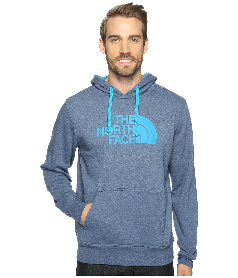 The North Face - Half Dome Hoodie (Shady Blue Heather/Hyper Blue (Prior Season)) Men's Long Sleeve Pullover