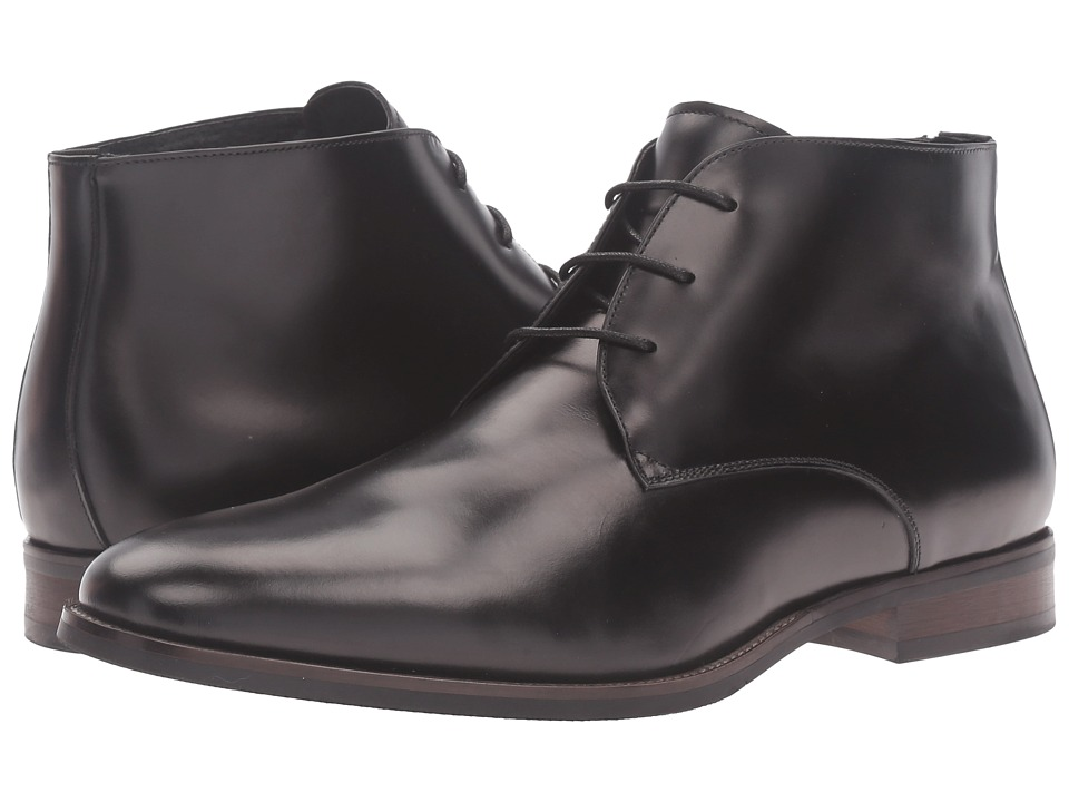 Dune London - Moreton (Black Leather) Men's Shoes