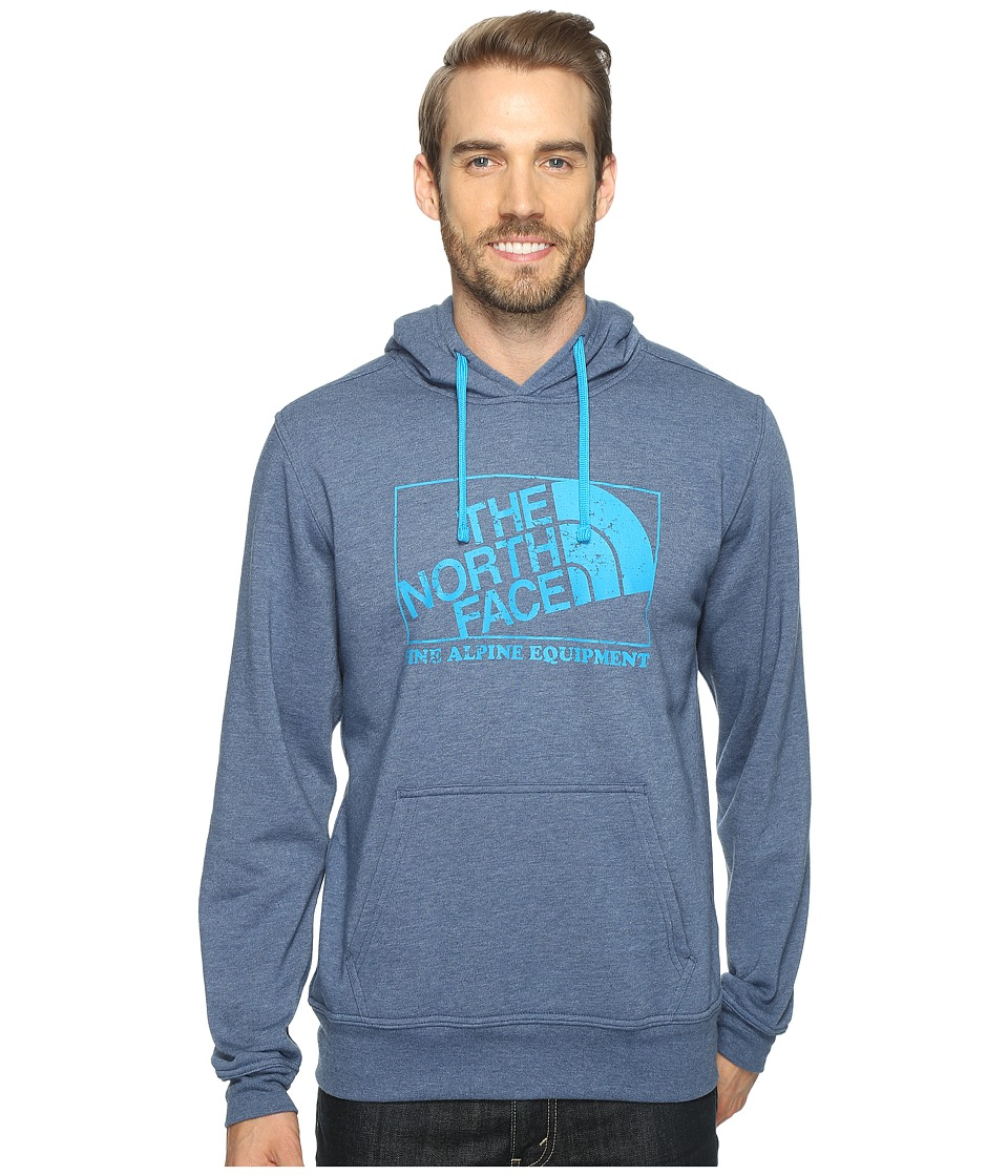 The North Face - Super Fine Alpine Hoodie (Shady Blue Heather (Prior Season)) Men's Sweatshirt