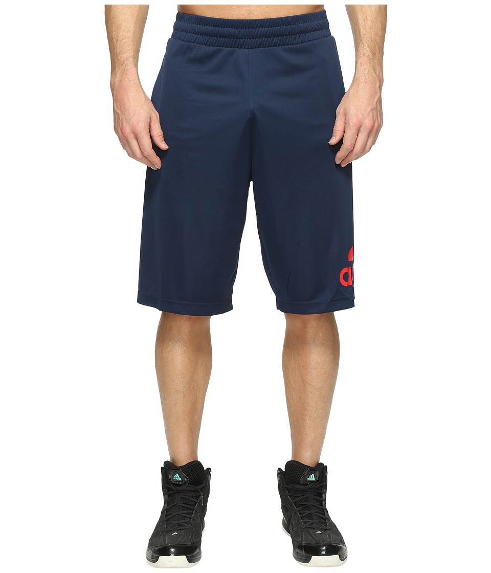 adidas - Crazylight Shorts (Collegiate Navy/Scarlet) Men's Shorts