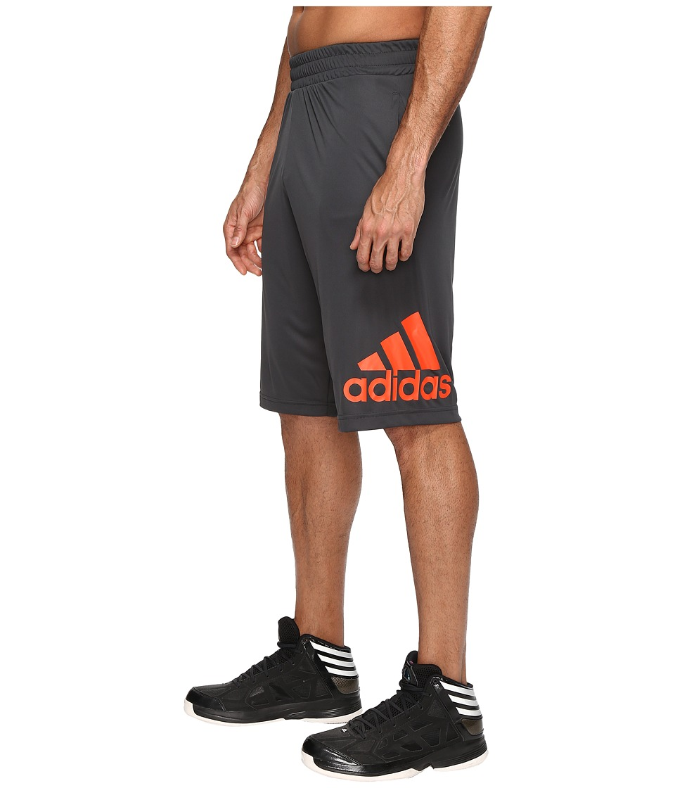 adidas - Crazylight Shorts (Dark Grey/Energy) Men's Shorts