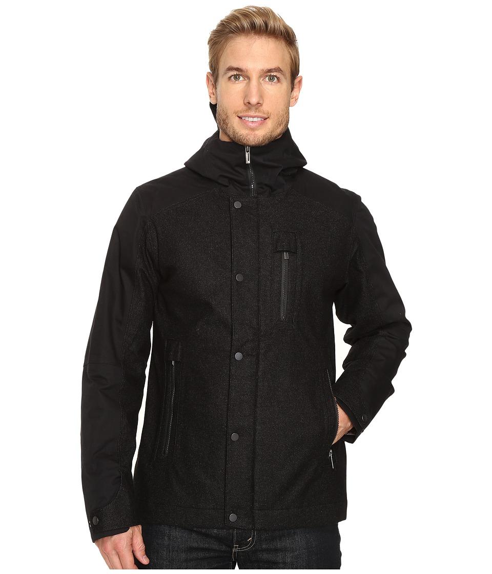 NAU - Prato Wool Synfill Jacket (Caviar Heather) Men's Coat