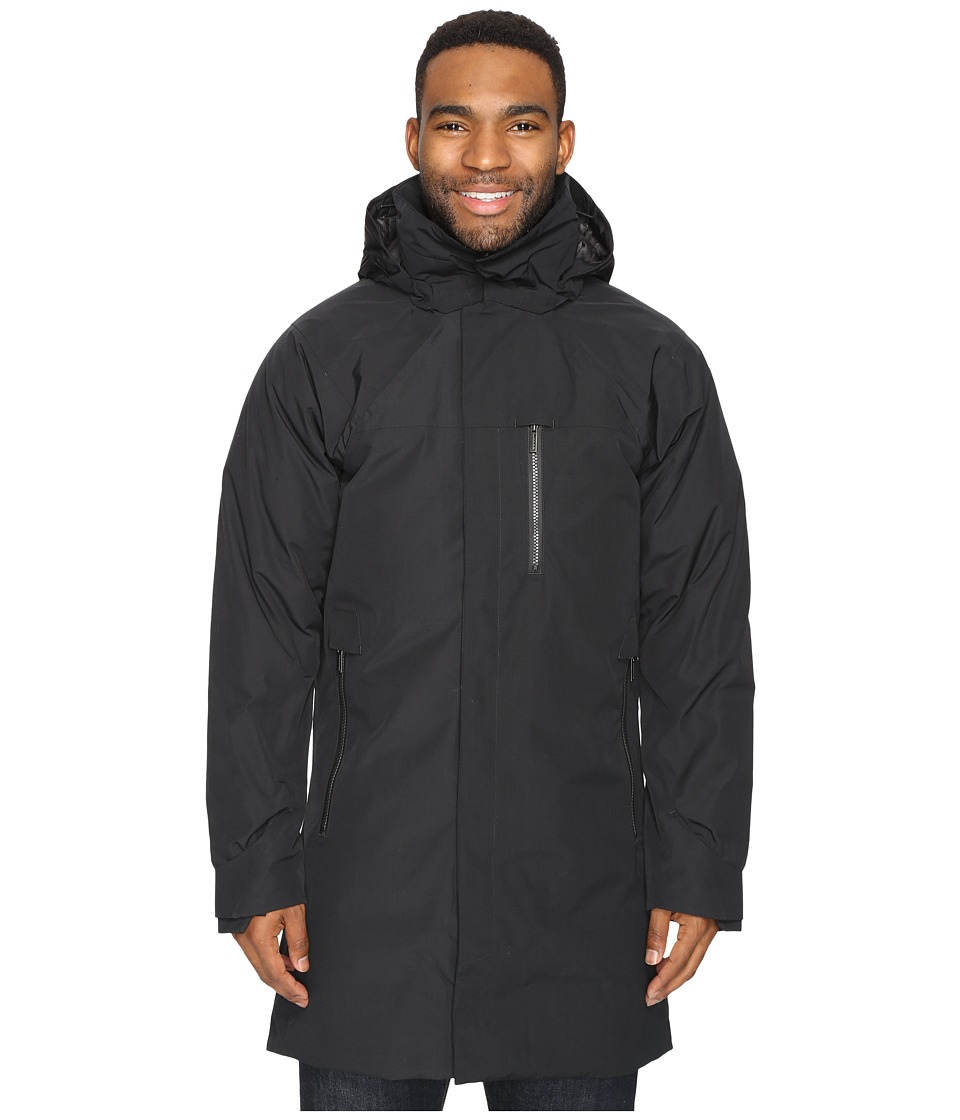 NAU - Copenhagen Down Trench Coat (Caviar) Men's Coat
