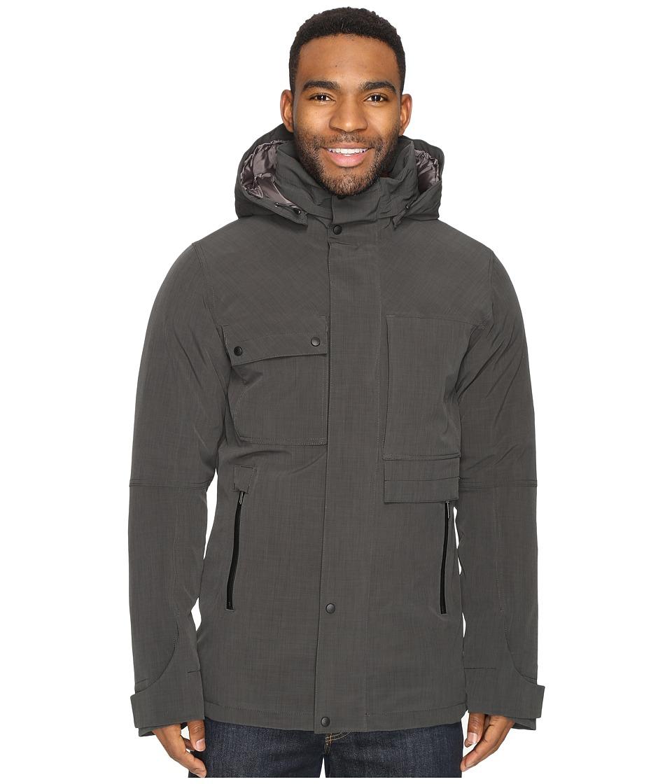 NAU - Blazing Down Jacket (Caviar Heather) Men's Coat