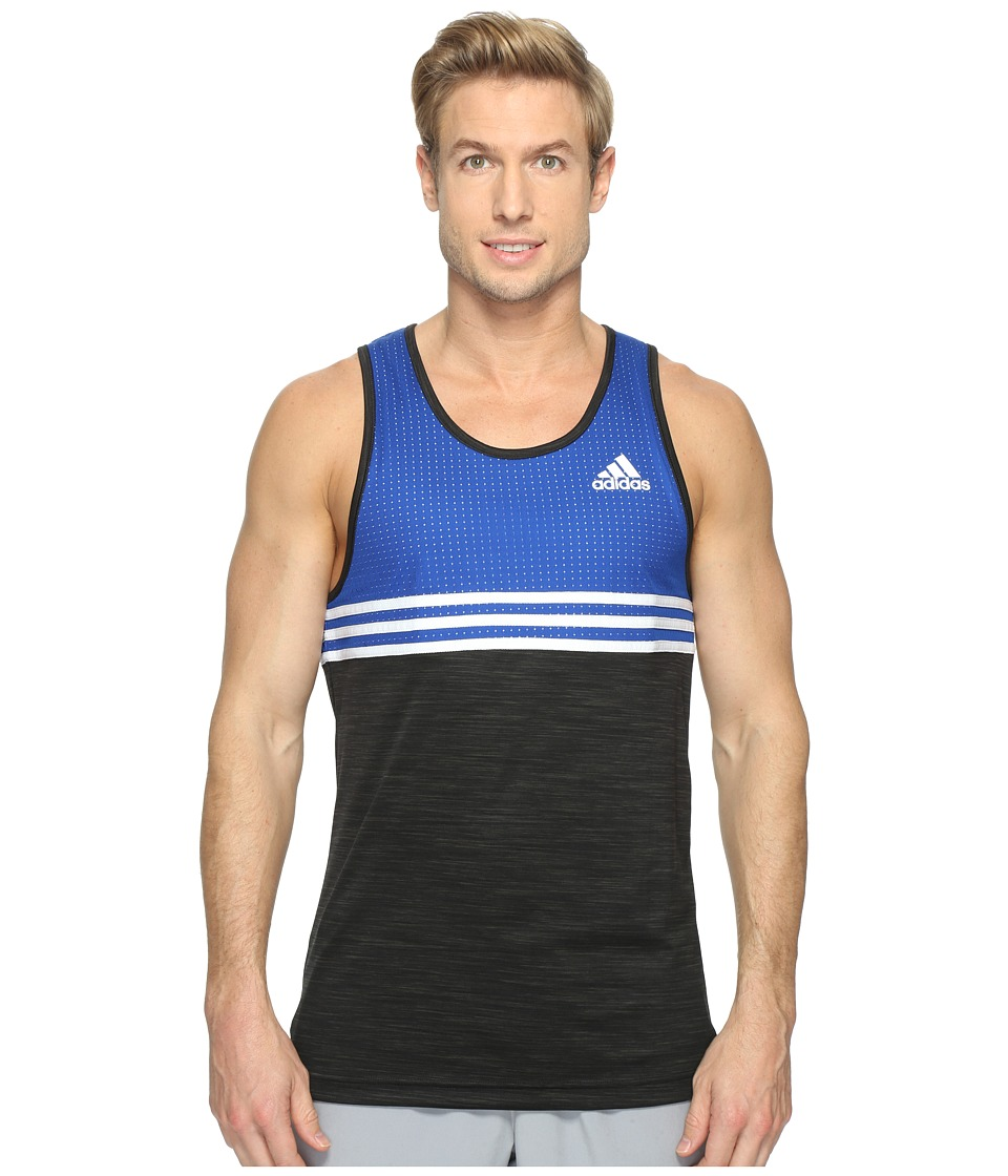 adidas Double Up Tank (Collegiate Royal) Men