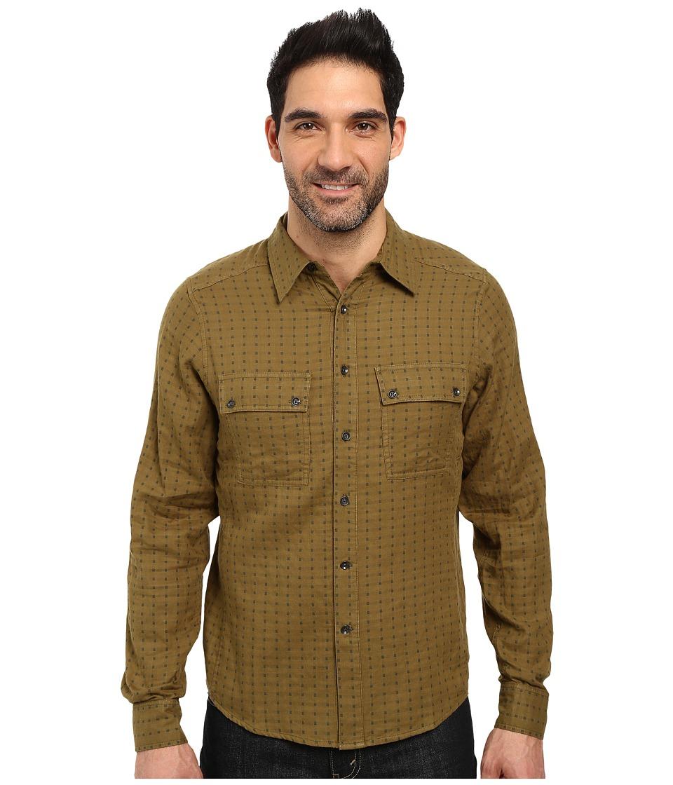 NAU - Shadow Box Long Sleeve Shirt (Frond Plaid) Men's Long Sleeve Button Up