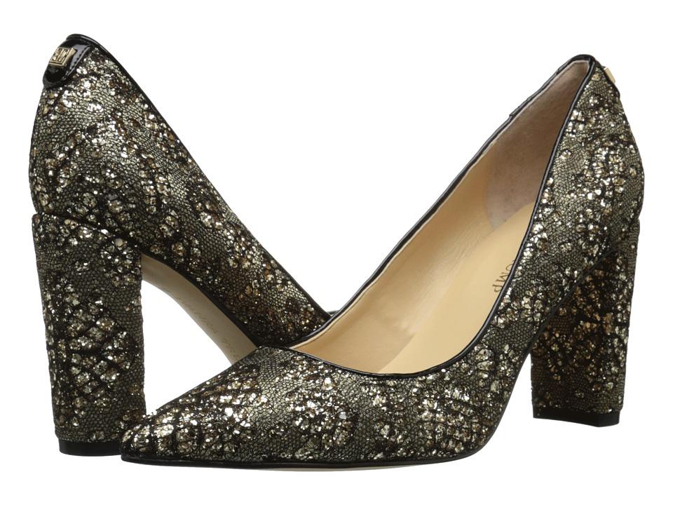 Ivanka Trump - Katie 3 (Black/Gold/Nero) Women's Shoes