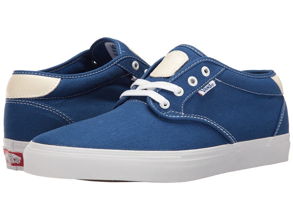 Vans - Chima Estate Pro (True Blue/White) Men's Skate Shoes