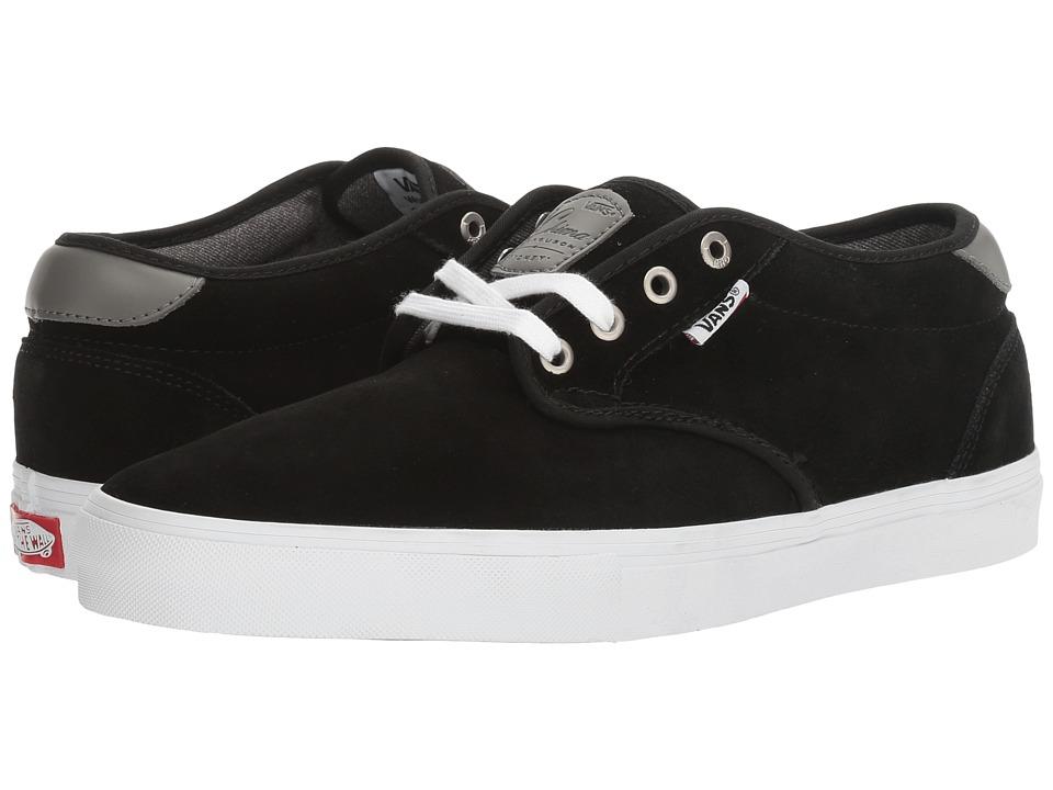 Vans - Chima Estate Pro ((Suede) Black/White) Men's Skate Shoes
