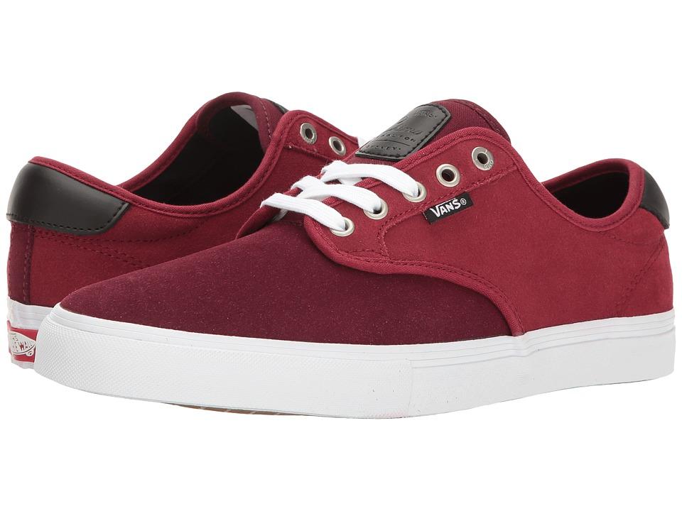 Vans - Chima Ferguson Pro ((Two-Tone) Port Royale/Rhubarb) Men's Skate Shoes
