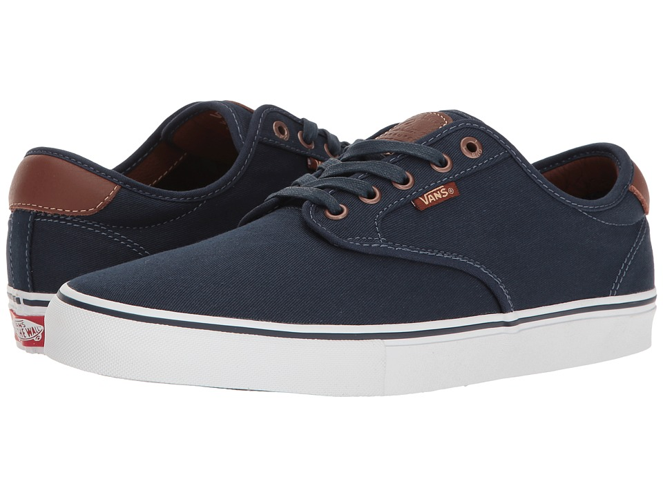 Vans - Chima Ferguson Pro ((Brushed Twill) Navy) Men's Skate Shoes
