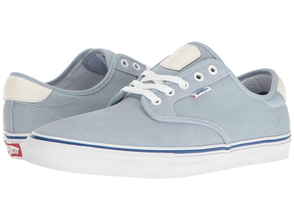 Vans - Chima Ferguson Pro (Blue Fog/White) Men's Skate Shoes