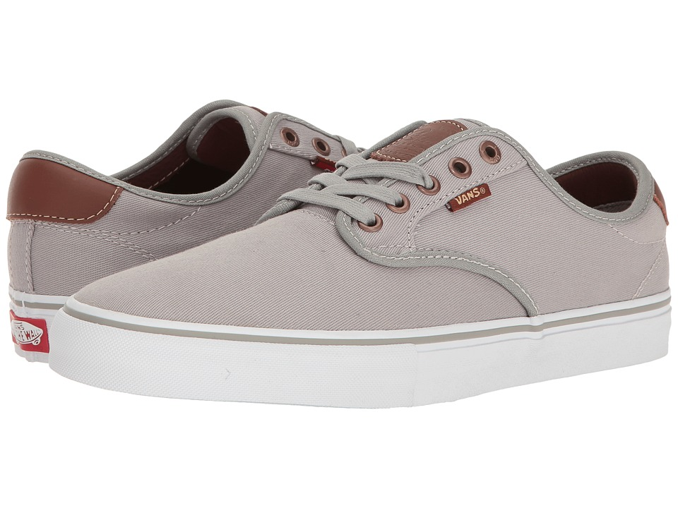 Vans - Chima Ferguson Pro ((Brushed Twill) Grey) Men's Skate Shoes