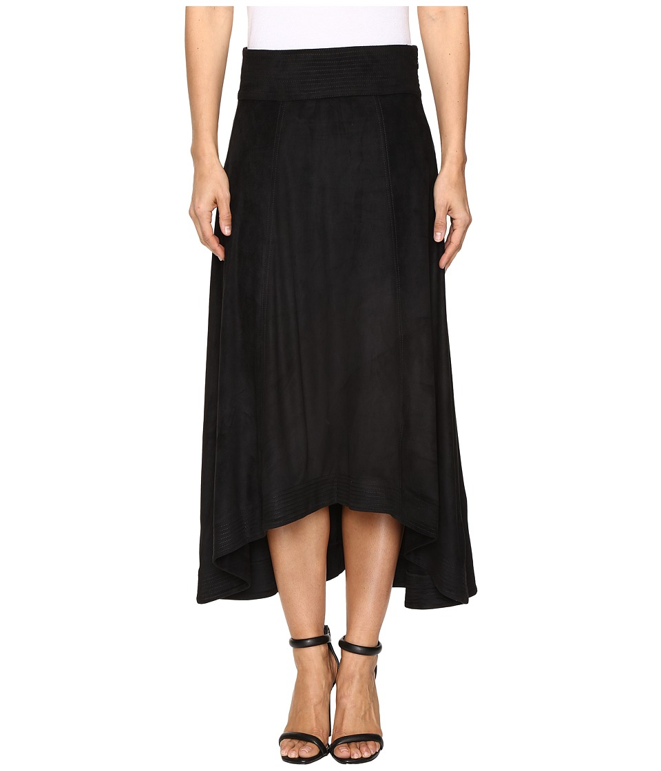 Jag Jeans - Meredith Skirt in Machine Washable Faux Suede (Black) Women's Skirt